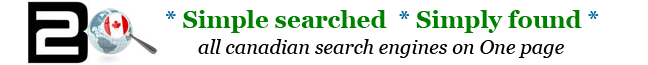 All Canadian Search Engines on 1 page Canada Startpage WebSearch Contact
